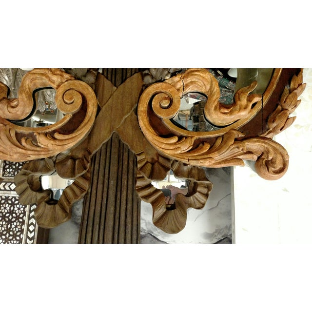 Hand Carved Italian 18th Century Mirrors - Pair For Sale In Miami - Image 6 of 9