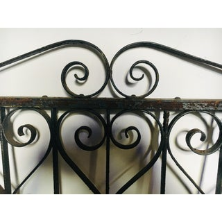 19th Century Wrought Iron Railing Section Preview