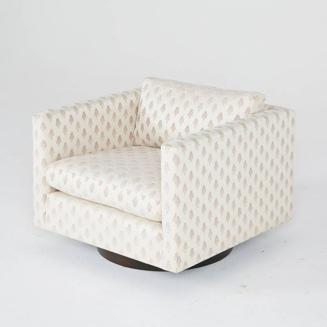 1950's Harvey Probber Swivel Club Chairs - A Pair - Image 4 of 5