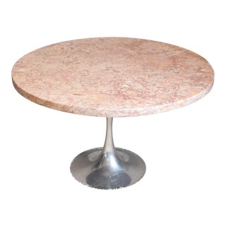 1960's Vintage Burke Saarinen Style Tulip Coffee Table For Sale