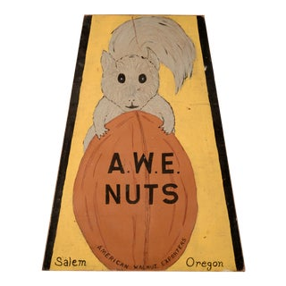 Awe Nuts Sign