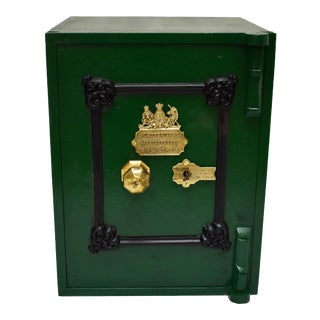 Cast Iron Floor Safe by E. Cotterill & Co. England, 1870 For Sale