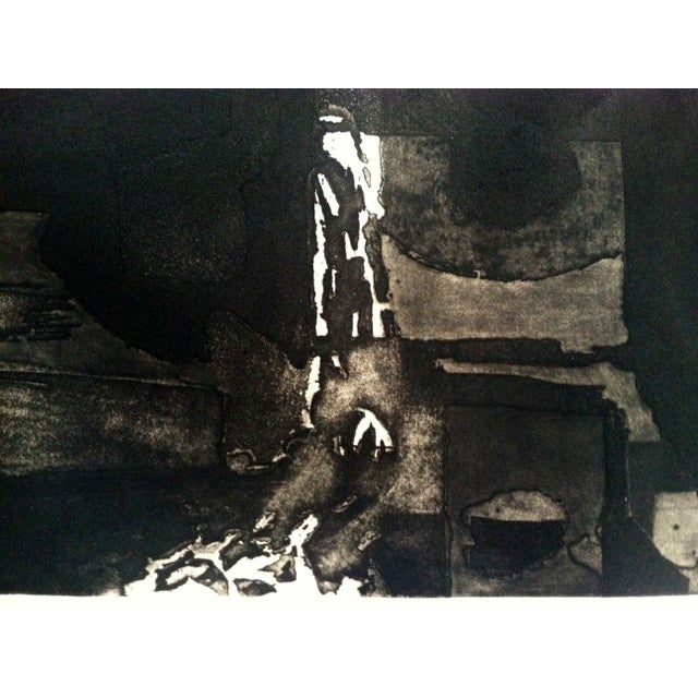 1960s Modernist Abstract Print - Image 3 of 7