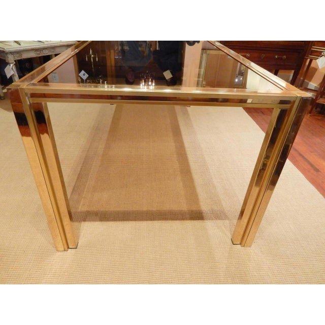 Italian Mid-Century Modern Romeo Rega Dining Table For Sale In New Orleans - Image 6 of 7