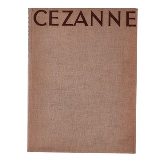 """1937 """"Cezanne"""" Coffee Table Book For Sale"""