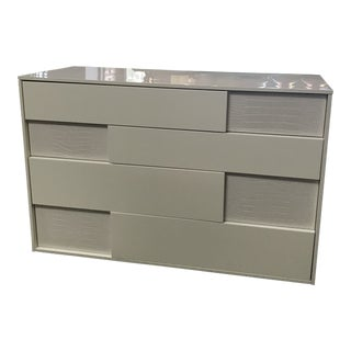 Rossetto Nightfly 4 Drawer Dresser in White Lacquer