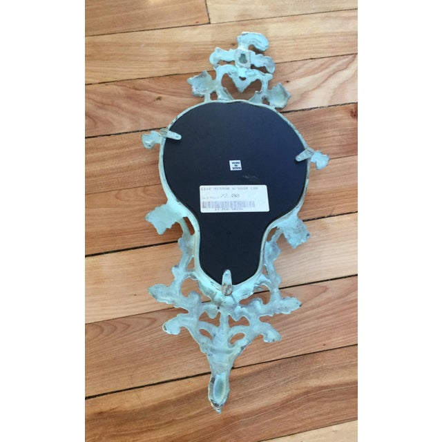 Vintage-Like Wall Mirror With Hat Hook - Image 4 of 6