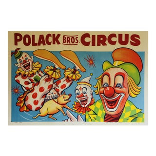 Vintage Circus Polish Poster
