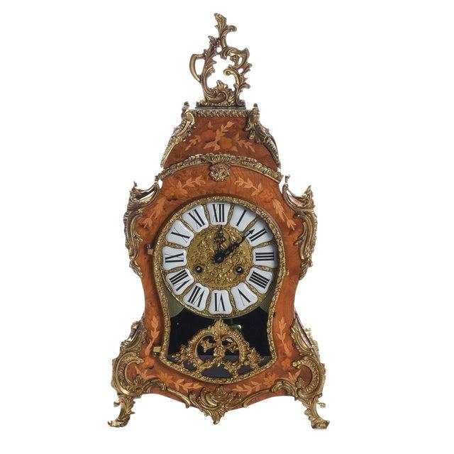 Louis XV Rococo Mantel Clock ,1900's For Sale
