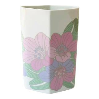 Vintage 1970s Rosenthal Studio-Line Floral Vase Designed by Rosemonde Nairac For Sale