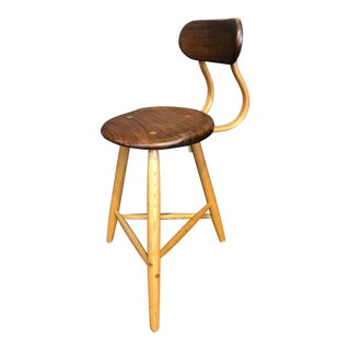Hand Crafted Studio Barstool For Sale