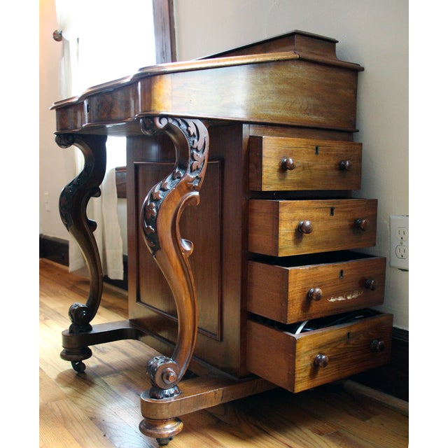 Victorian Davenport Writing Desk - Image 3 of 11