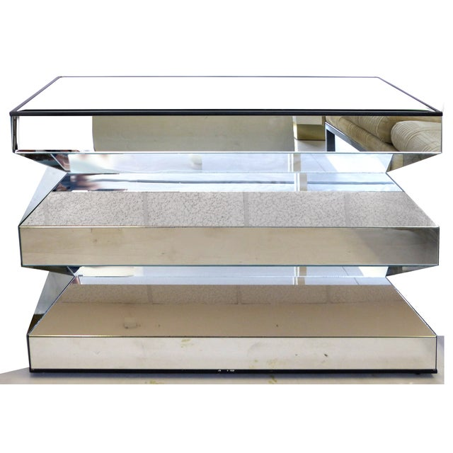 Angled Mirror Console -- or Dinning Table Base - Image 3 of 9