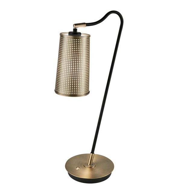 Not Yet Made - Made To Order Roma Bronze Table Lamp For Sale - Image 5 of 5