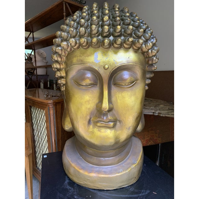 Early 20th Century Buddha Head For Sale In New York - Image 6 of 6