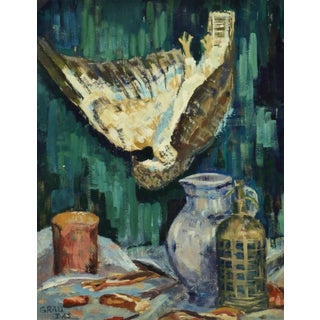 Vintage French Still-Life Painting For Sale