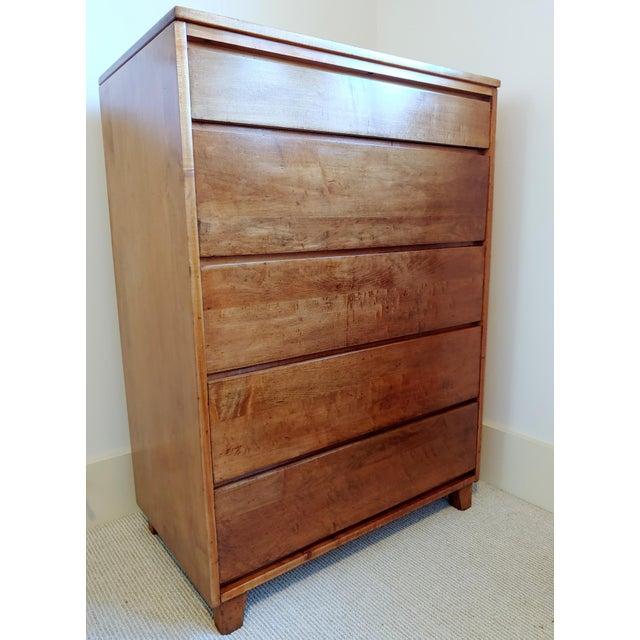 Wood 1950s Conant Ball Modernmates Mid Century Secretary Dresser For Sale - Image 7 of 7