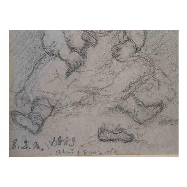 John Cranch Children Drawings For Sale - Image 5 of 6