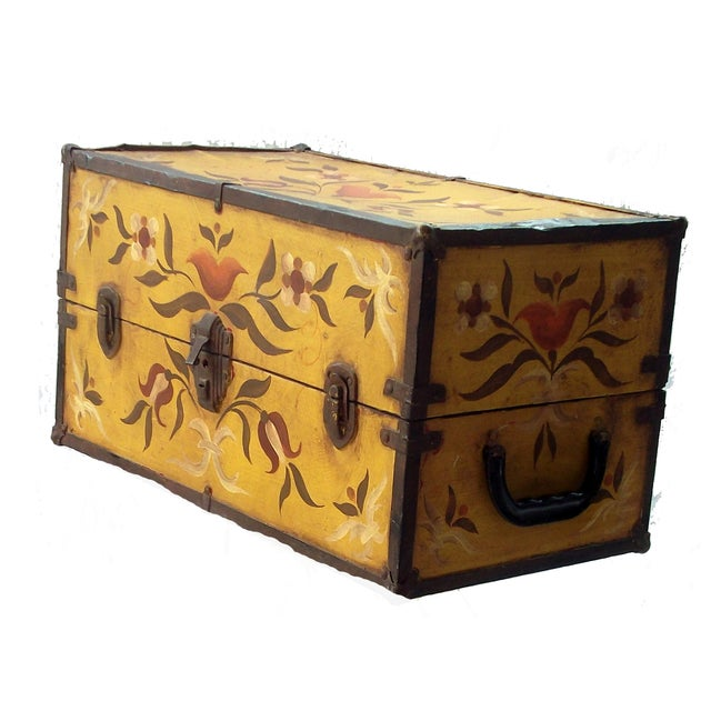 Vintage Doll Trunk - Image 1 of 4
