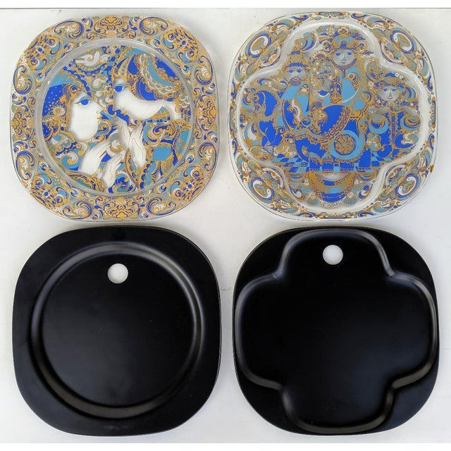 These are an amazing pair of collector's Rosenthal Studio, Limited Edition Weihnachten plates, 1977/1978 (German for...
