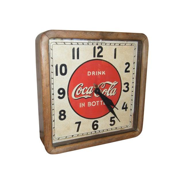 Vintage 1939 Coca Cola Wall Clock - Image 1 of 4