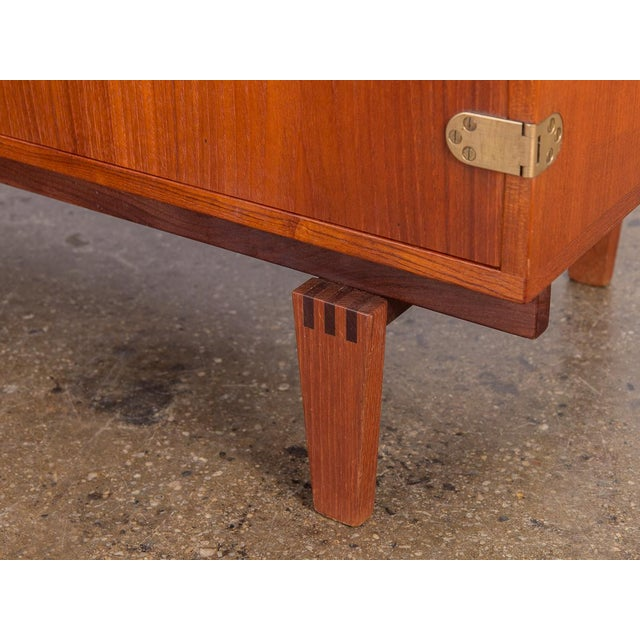 Small Teak Sideboard by Peter Lovig Nielsen For Sale - Image 9 of 10