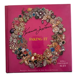 Signed Kenneth Jay Lane Jewelry Book For Sale