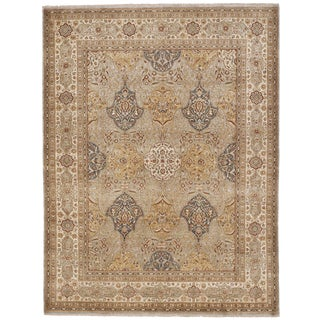 """Hand Knotted Indian Rug - 8'x 10'6"""" For Sale"""
