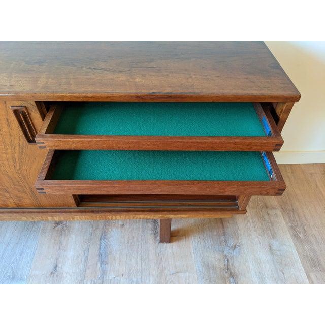1960's Dyrlund Teak 3-Door Credenza/Sideboard For Sale - Image 9 of 13