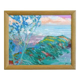 Juan Pepe Guzman Ventura California Ocean/Beach Oil Painting For Sale