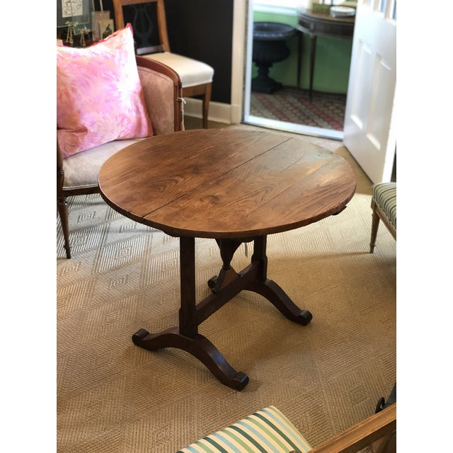 Brown 19th Century French Wine-Tasting Table For Sale - Image 8 of 8