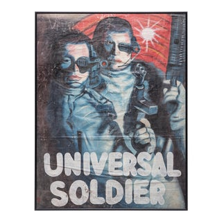 """Universal Soldier"" Ghanaian Movie Poster For Sale"