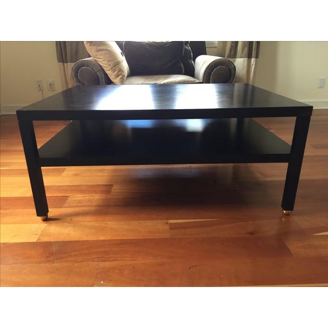 "Modern Black ""Morris"" Coffee Table - Image 2 of 7"