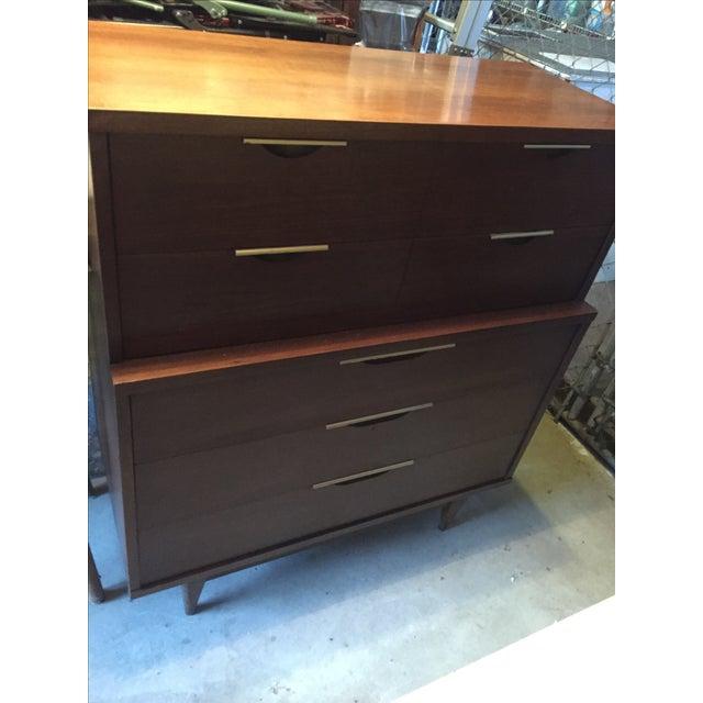 Mid-Century Modern Kent Coffey Tableau Dresser - Image 6 of 7