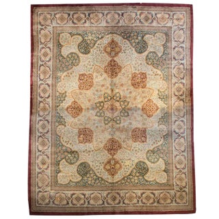 """Mid-20th Century German Rug - 149"""" x 186"""" For Sale"""