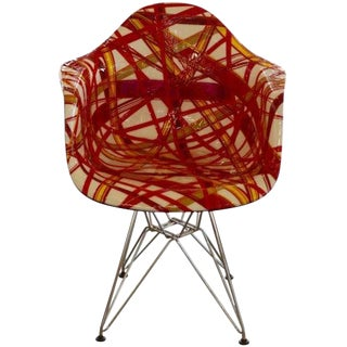 """Mauro Oliveira Decorated Chair """"Summer"""" For Sale"""