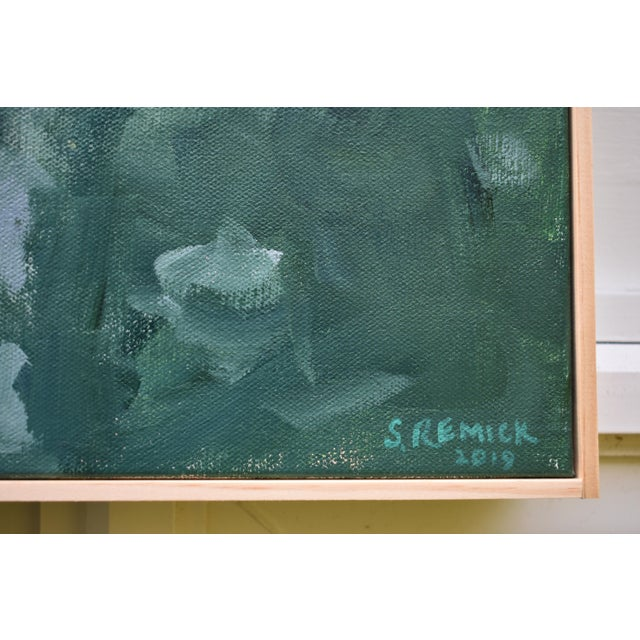 """Evening Calls"" Contemporary Painting by Stephen Remick For Sale In Providence - Image 6 of 11"