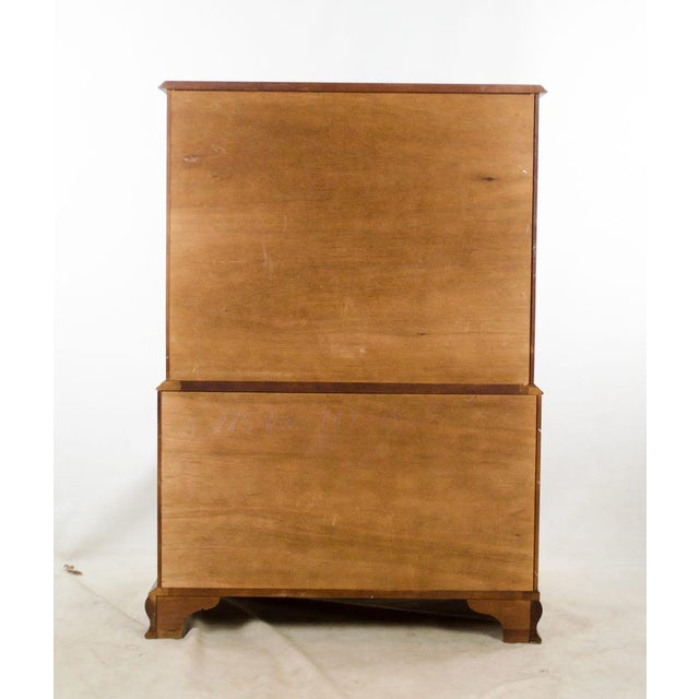 1970s Vintage Craftique Traditional Highboy Chest For Sale - Image 11 of 13