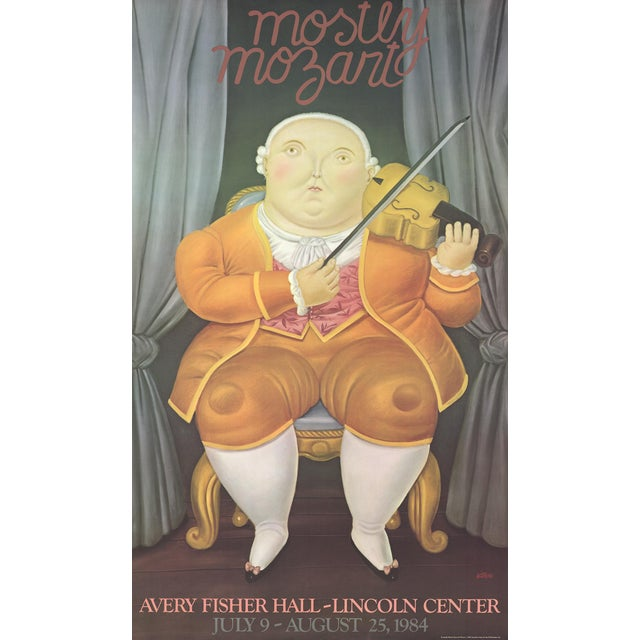 """Mostly Mozart"" by Fernando Botero For Sale"