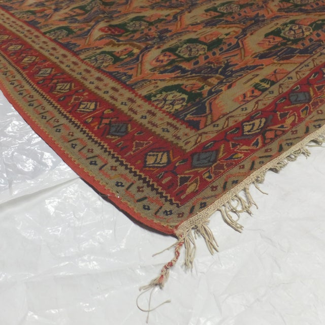 """Persian Kilim , 10' X 6'5"""" For Sale - Image 4 of 4"""