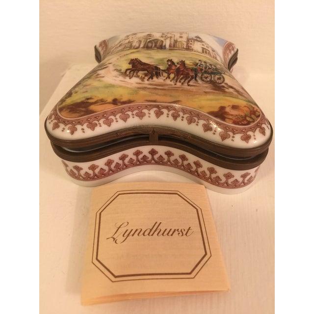 1980s Vintage Porcelain De Paris Boxes - Set of 5 For Sale - Image 5 of 12
