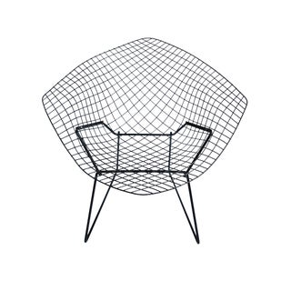 Vintage Harry Bertoia for Knoll Diamond Wire Chair For Sale