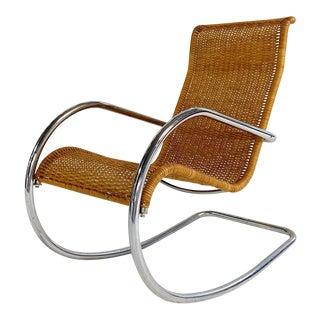 1960s Vintage Stendig Rocking Chair For Sale