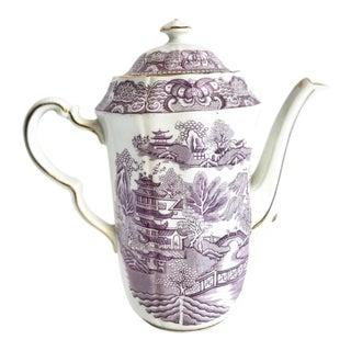 Vintage Asian Chinoiserie English Teapot