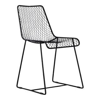 C'est Beau1872 Black Fishnet Dining Chair For Sale