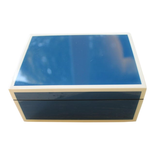 Pacific Connections Blue Box For Sale