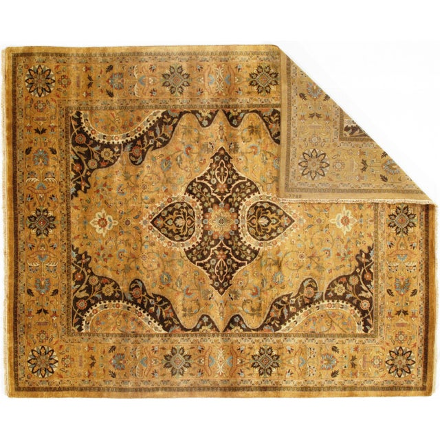 "Traditional Pasargad N Y Fine Serapi Design Hand-Knotted Rug - 7'10"" X 9'6"" For Sale - Image 3 of 6"