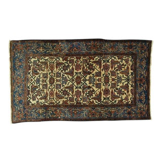 Early 20th Century Leon Banilivi Antique Persian Ferahan Rug - 4′1″ × 7′ For Sale