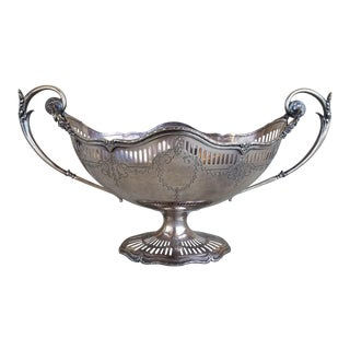 Large Shreve Sterling Centerpiece For Sale