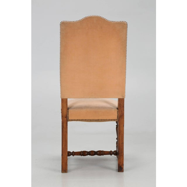 Antique French Dining Side Chairs - Set of 6 For Sale - Image 9 of 12